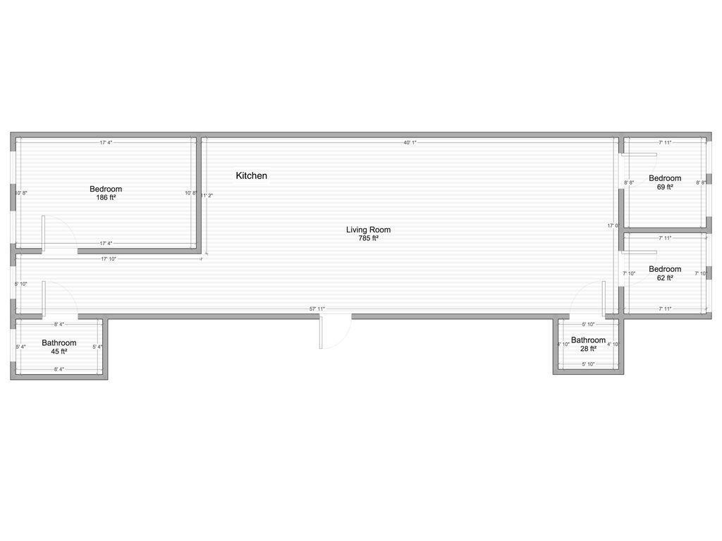 Apartment Huge Duplex 6 Bedroom 3 Bath Flatiron Chelsea Loft photo 143182