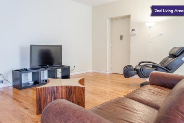 2nd Living Area Den